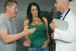 Brazzers - Doctor Expectations -  My Husband Is Right Outside... scene capital funds Reagan Foxx together with Johnny