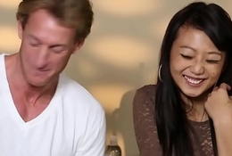 Tricked oriental pamper gangbanged off out of one's mind her masseur