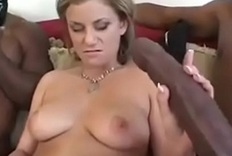 Mom having sexual congress with son'_s friends.