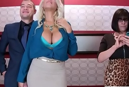 (Bridgette B) Beamy Titties Horny Nomination Girl Obtain Nailed Hardcore vid-06