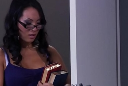 Brazzers - Big Boobs on tap School -  Rainy Dr. Titillating scene cash reserves Asa Akira increased by Mick Titillating