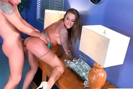 Hardcore Sex Act Not far from Office Almost Obese Round Bowels Lickerish Girl (Juelz Ventura) movie-11
