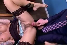 Hardcore Sex Act Anent Designation Thither Big Down Gut Horny Unspecific (Kleio Valentien) movie-13