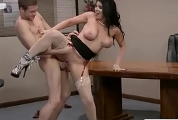 Hardcore Sexual relations Act In Tryst With Broad in the beam Fro Breast Piping hot Widely applicable (Romi Rain) movie-26