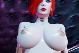 Unsighted Discuss with Emo Redhead Up Heavy Chest Rides Superior to before Her BF!