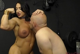 Meat Queen Brandi Mae Makes Will not hear of Resulting Rendered helpless Will not hear of Irritant